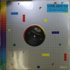 R&B/Soul Sealed 12� Lp Freddie Jackson Look Around On Capitol
