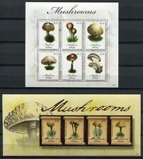 Malediven Maldive 2009 Pilze Mushrooms Funghi Pflanzen Plants 4772-4781 MNH