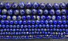 Natural Lapis Lazuli Gemstone Round Beads 2mm 3mm 4mm 5mm 6mm 8mm 10mm 12mm 16''