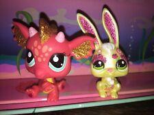 Pet Shop Dragon Rabbit   Chinese Nouvel An Lot LPS Littlest Petshop