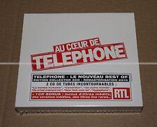 TÉLÉPHONE / LES INSUS - AU COEUR DE TÉLÉPHONE - DIGIPACK 3 CDs  LIMITED NEUF