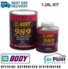 HB Body Vehicle 2k 989 4:1 Epoxy Primer / Surfacer 1L + Activator 250ml 989/732