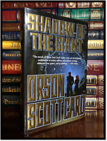 Shadow Of The Giant ✎SIGNED✎ by ORSON SCOTT CARD Hardback 1st Edition Printing