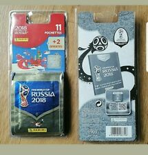 neuf Panini foot fifa world cup russia 2018 / lot 5 blisters = 65 pochettes