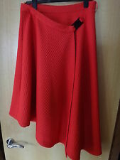 M & S Limited Edtion Wrap Style Skirt Orange BNWT Size 14