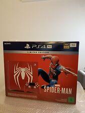 Nuevo Sony ps4 pro 1tb consola Spider-Man Limited Edition PlayStation 4 Spiderman