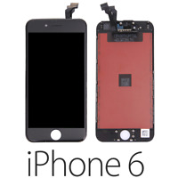 IPHONE 6 LCD SCHERMO DISPLAY RETINA TOUCH SCREEN VETRO FRAME NERO