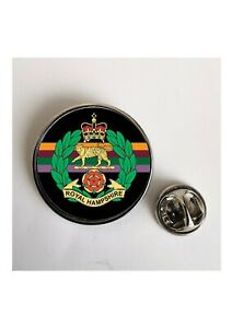 Royal Hampshire Regiment Army Military lapel pin / Key Ring  / Fridge Magnet