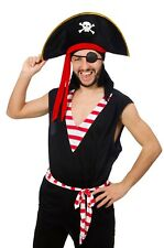 Pirate Captain Hat Skull Cap Costume Party Halloween Book Week Express Shipping