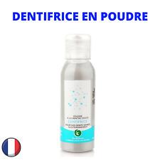 Dentifrice Naturel sans eau Bio Poudre Blachiment des Dents Charbon Bicarbonate