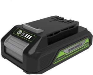 Ex Display Greenworks 24V  2.0ah battery
