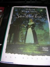 A Break with Charity : A Story about the Salem Witch Trials by Ann Rinaldi...