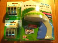 Dymo Xpress Embossing Label Maker express with + 6 black tapes free post