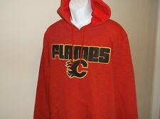 Calgary Flames Majestic Hoodie Sweatshirt Men's Large nwt Free Ship