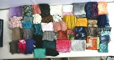Wholesale Bulk Lot of 40 Scarves Mixed Scarf Infinity Wrap Muffler Square Knit