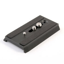 "AU 501PL Sliding QR Plate  1/4"" 3/8"" for Manfrotto 501 503HDV 701HDV 577 Tripod"