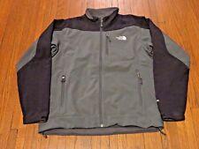 Men's The North Face Apex Bionic Grey Black Jacket sz L