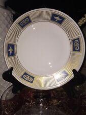 Coalport PALLADIAN Salad Plate England, Royal Blue and Gold, Excellent