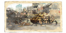 Forces of Valor 172nd Scale German King Tiger I and 5 Soldiers - Normandy 1944