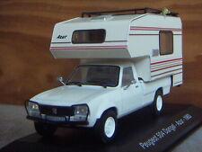 PEUGEOT 504 DANGEL 1993- COLLECTION CAMPING-CARS AU 1/43ème