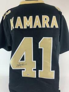 Alvin Kamara Signed Autographed Jersey Beckett COA Saints Football Autograph