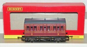 Hornby 00 Gauge R468 LMS Four Wheel Coach Used VNMIB