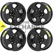 17 Dodge Ram 2500 3500 Truck Black Wheels Rims Factory Oem Set 4 2498
