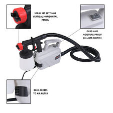 Electric Easy Paint Spray Gun Painter Zoom Through House Painting Jobs 800W