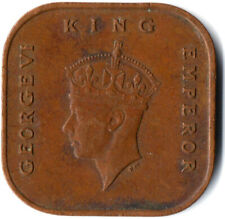 MALAYA, KING GEORGE VI. / 1 Cent, 1945  #WT2513