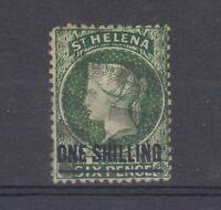 St Helena QV 1864 1/- SG19 VFU J7920