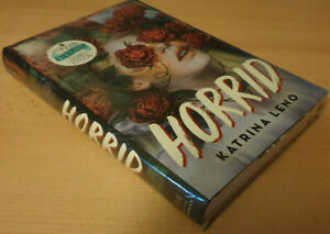 HORRID: Katrina Leno Owlcrate SIGNED Ltd Ed w. Author Letter, Exclusive DJ + Pin