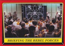 2016 Topps Star Wars Rogue One:Mission Briefing, BRIEFING THE RBEL FORCES #47