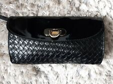 Fcuk Small Black Wrist  Clutch Bag