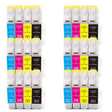 24 PK B C M Y Ink Cartridges fits Brother Series LC51 MFC 685CW 845CW 885CW