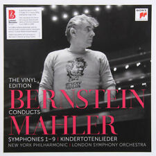 SONY 15-LP Box Set: BERNSTEIN conducts MAHLER Vinyl Edition - 2017 FRANCE SEALED