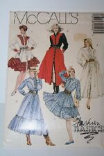 McCall's P420 6413 Western Dress Square Dance Sewing Pattern UC FF Miss