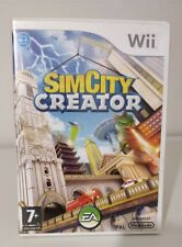 SIMCITY SIM CITY CREATOR Nintendo Wii Vers. ITALIANA COME NUOVO COMPLETO
