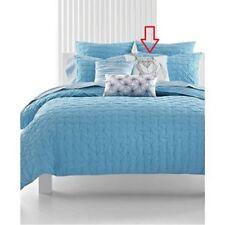 "Bar III Box Pleat Sea Spray Foxy 18"" Square Decorative Pillow - MSRP $55"