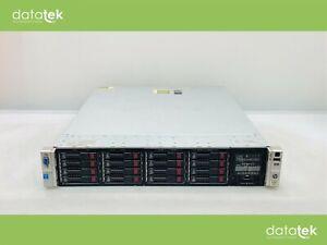HP DL380p G8 v2 - 2 x E5-2620 v2, 16GB, P420/1GB Rack Server Inc 4.8TB Solution
