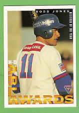 1995 AUSTRALIAN BASEBALL CARD #90  ROSS  JONES, RELIEVER OF THE YEAR