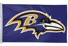 Baltimore Ravens 3x5 House Flag [NEW] NFL Banner Sign Fan Wall Man Cave