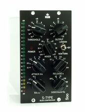 IGS Audio S-Type Stereo Mix Bus Compressor (API 500 Series) + 2 Blank Panels