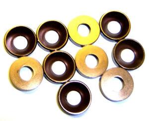 203000133 5mm M5 Smoke Chrome Alloy Aluminium Nylon Washer 10