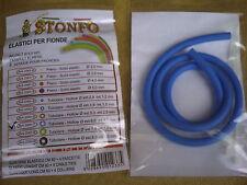 2 x Cavo di ricambio STONFO Catapulta elastici, BLU... medio stimato per l'alimentazione delle particelle.