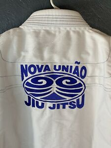 Nova Uniao Jiu Jitsu MMA Gi Size A4 Never Used Brand New White With Blue Trim