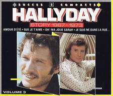 JOHNNY HALLYDAY - 2 CD - HALLYDAY STORY 1967 - 1973