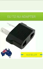 EU Europe euro to AU AC Power Plug Adapter Travel 2 pin Converter.AUS STOCK