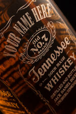 Jack Daniels Bottles 70cl Empty Personalised Engraved - UK Post