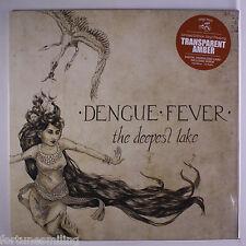 La fièvre dengue le plus profond lac Orange Vinyl LP 33 tr/min LTD ED.
