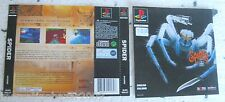 SPIDER (1997) PLAYSTATION 1 COVER, NO DISCO NO BOX